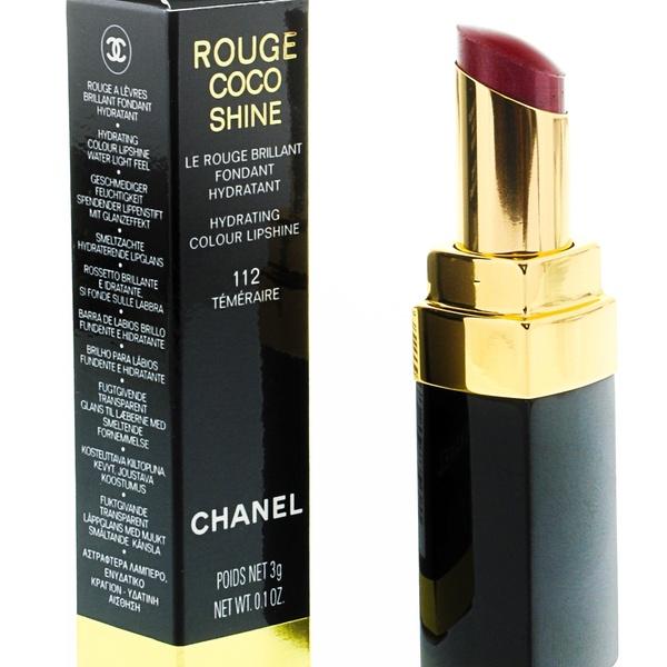 Chanel Womens Coco Shine Hydrating Lip Color Lipstick