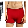 Mens Solid Color Seamless Boxer Brief 6 Piece Color Variety Set