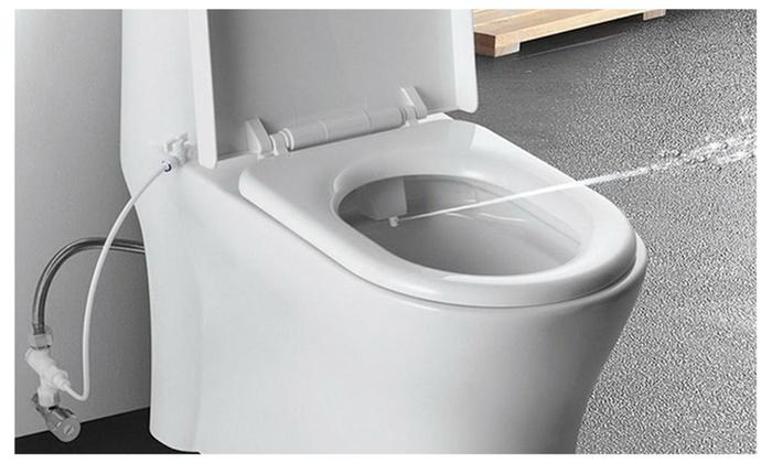 Bathroom Intelligent Toilet Seat Bidet Spray Flushing Sanitary Device