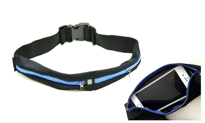 Super Quality Water Resistant Dual-Pocket Running Belt