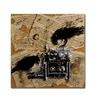Roderick Stevens Quoth the Raven 1 Canvas Print