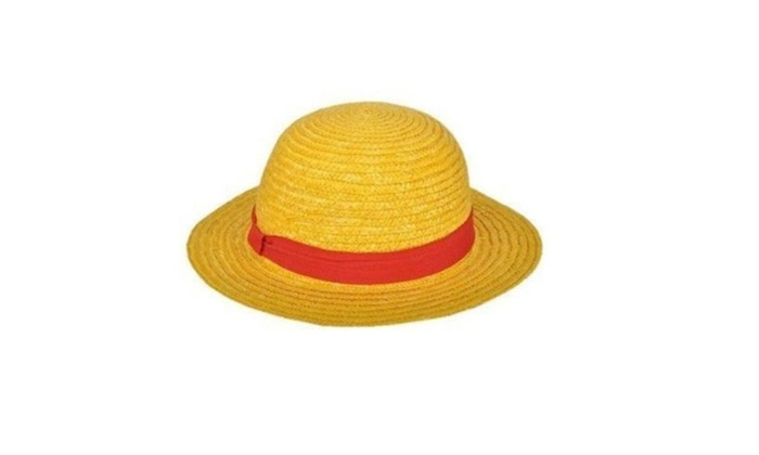 34b93ae1520 One Piece Straw Hat Luffy Anime Cosplay Hat Boater Beach Fun Cap ...