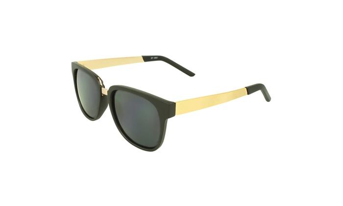 MLC EYEWEAR Stylish Rock n Road Retro Square Sunglasses
