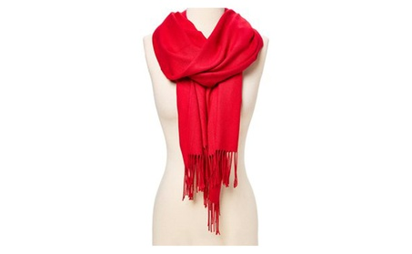 Pashmina Cashmere Scarf Shawl Wrap Solid Stole Silk Soft Women Men a10cdf17-a16b-4b6f-8b3b-809e004db801
