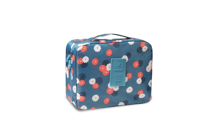 ROBIN LITTLEFIELD: Portable Travel Cosmetic Bags Waterproof Toiletry Bags Makeup Pouch ...