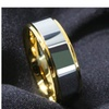 Tungsten and 18K Gold Ring