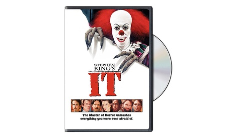 "Stephen King's ""IT"" DVD Movie 1e3adfc7-ddc0-4e81-a770-4da2ce20c724"