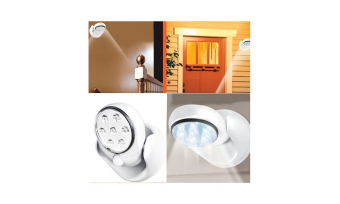 New Motion Activated Cordless Sensor LED Light Garden Wall Patio WK