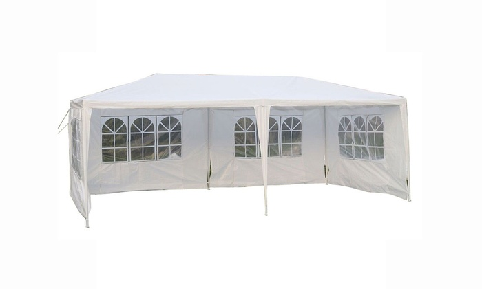 Up To 65 Off On 10x 20 Gazebo Canopy Weddin Groupon Goods