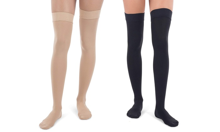 7405d4c86 Up To 79% Off on Women Sheer Thigh Highs Socks...