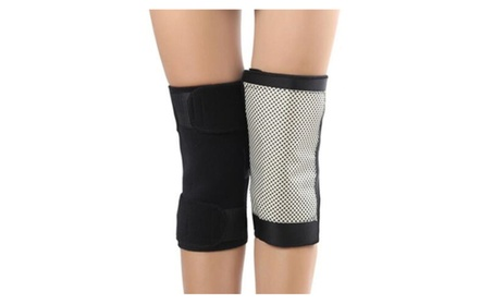 Tourmaline Heating Knee Electromagnetic Therapy Belt Massage (1 Set) bc838ad8-686c-4e51-87ae-b4de5e580018