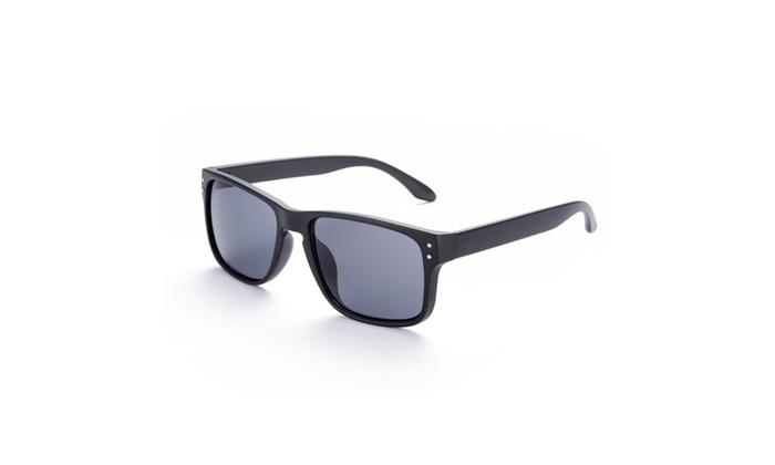 Brooklyn Wayfarer Classic Black Sunglasses