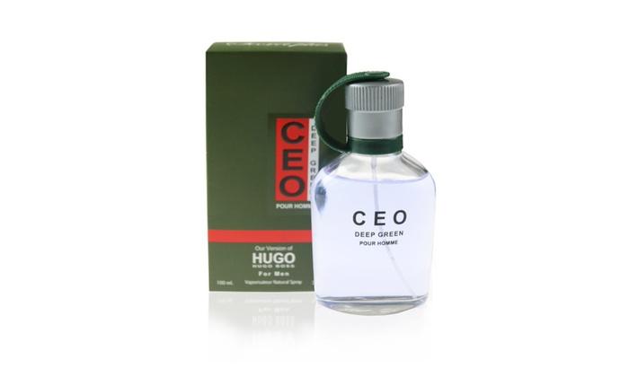 a77dca57e1 CEO DEEP GREEN impression of Hugo Boss Pour Homme for Men, 3.4 fl.oz ...