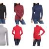 Womens Winter Long Sleeve Splendid Women's Basic Turtleneck Top