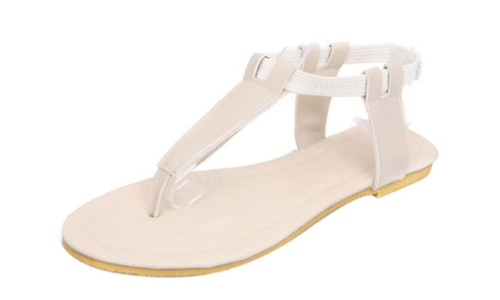 Woman Simple Style Summer Plat Sandal