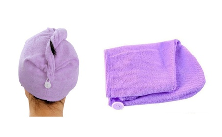 Absorbent Microfiber Hair Drying Turbans Ideal Shower - 5 Pack 35bbb86d-715e-4c17-aea6-f7b47a18b044