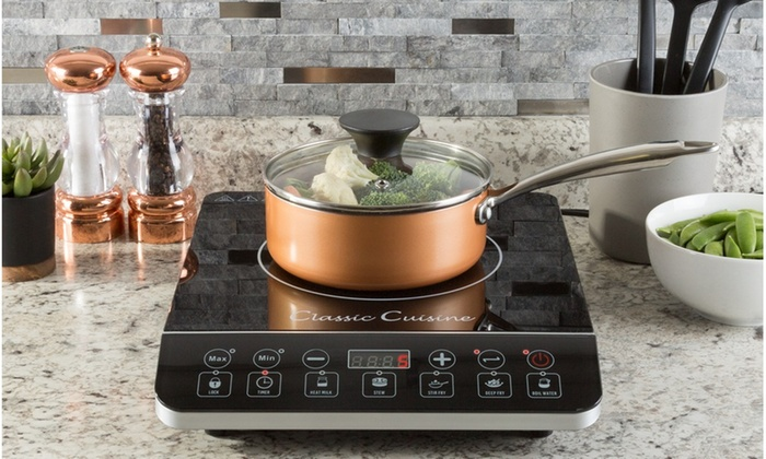 Multi Function 1800w Portable Induction Cooker Cooktop Burner By Clic Cuisine