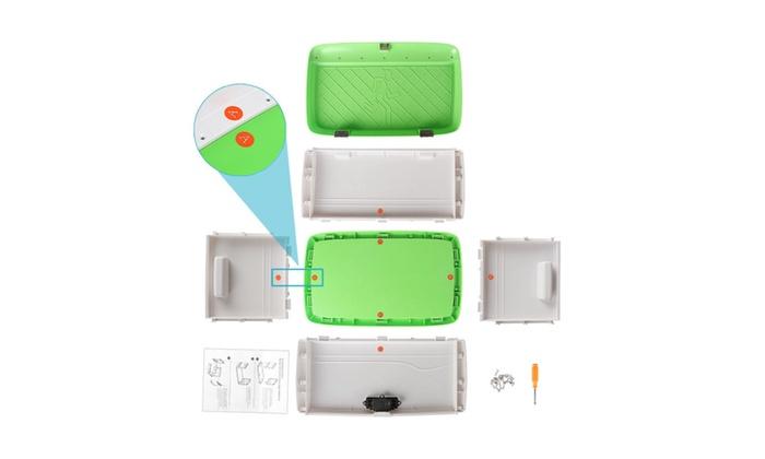 Locking Combination Medicine Box Childproof Storage Container 34