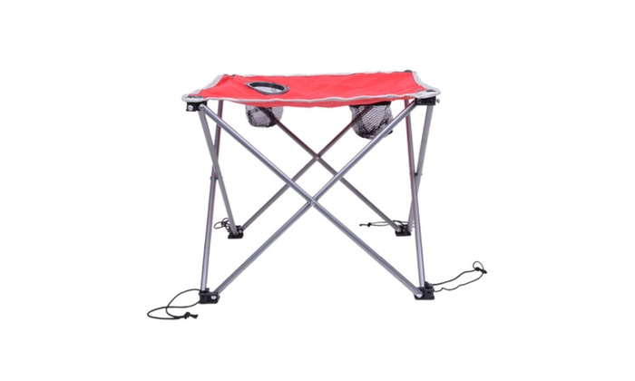 Iron Portable Folding Foldable Square Camping Outdoor Picnic Tea Table