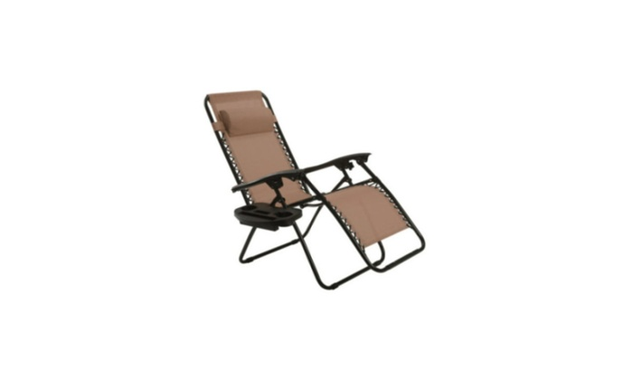 Steel Tubes Frame Durable And Sturdy Folding Rocking Chair