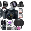 Canon Eos Rebel T7i with Canon EF-S 18-55mm Lens + Accessory Bundle