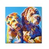 DawgArt Max and Maggie Canvas Print