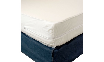 Zippered Fabric Waterproof & Bed Bug/Dust Mite Mattress Cover Protector