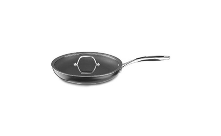 KitchenAid KCH112KLKD Anodized Nonstick 12-Inch Skillet with Glass Lid photo