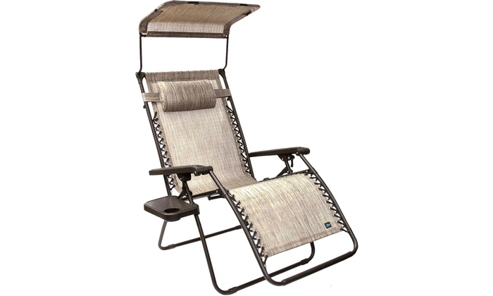 Superieur Bliss Hammocks Zero Gravity Chair With Canopy And Side Tray
