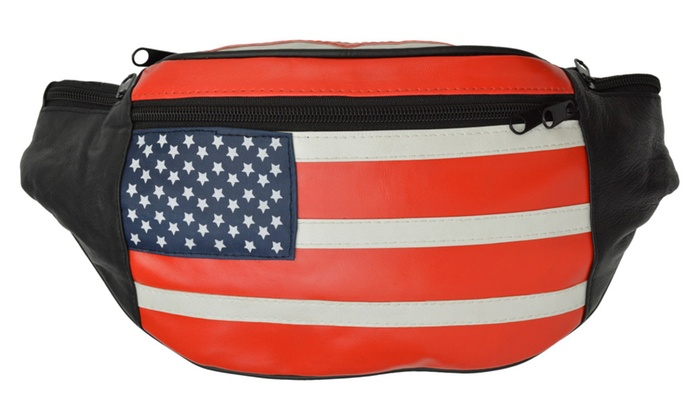 American flag pouch