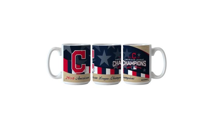 Cleveland Indians American League Champions Mug