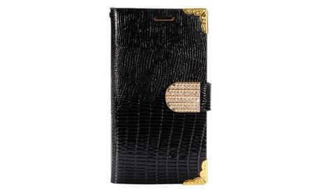 Insten Quality Crocodile Luxury Flip PU Leather Card Slot Case Pouch For LG K7 78a5ffab-cf57-4ab7-a6bd-066612485460