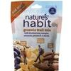 Nature's Habit Trail Mix, Blueberries Mangos Almonds Pecans & 4 Seeds