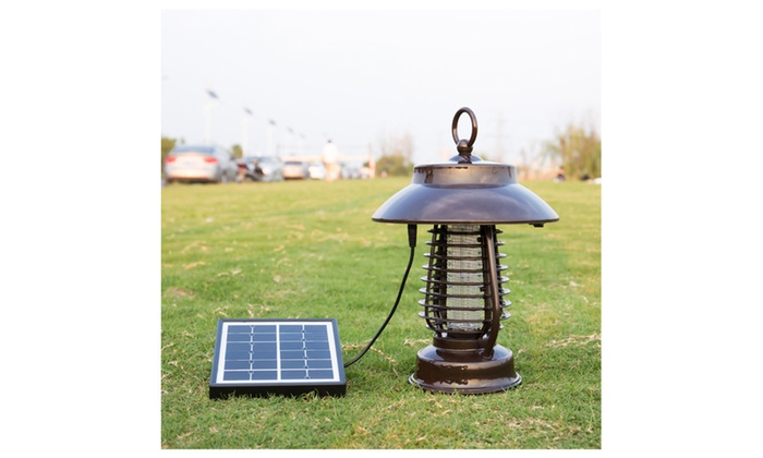 HQST Solar LED Bug Zapper And Lamp
