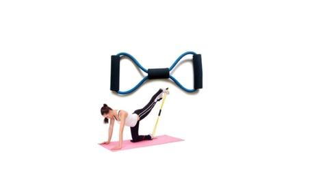 Fitness Equipment Tube Yoga Workout Exercise Elastic Resistance Band b8d43b54-49da-4c53-b4db-ebd7f44b92dc