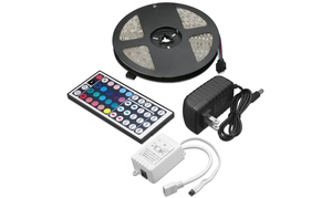 Multi-color LED Light Strip with Remote Control (16 Ft.)
