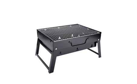 Steel Barbecue Grill Portable Stainless Charcoal BBQ Folding 9a17af08-686a-421a-9feb-4d30325f5d86