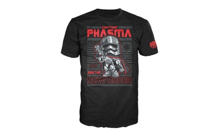 Funko Pop T-Shirts: Star Wars Episode 7 Captain Phasma 524541c6-c3e6-4e8c-b25f-4976837eb6bc