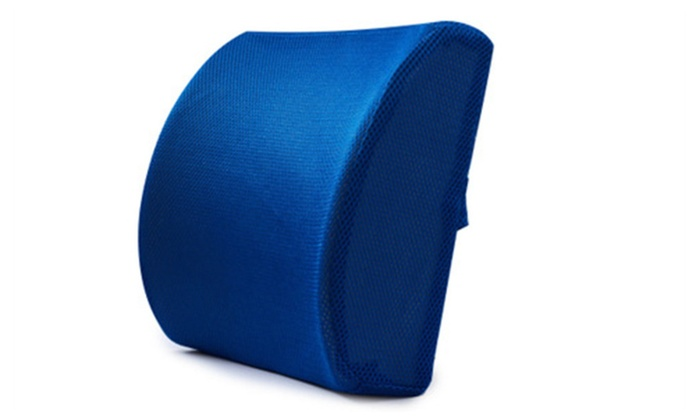 Everlasting Comfort Pure Memory Foam Back Cushion Groupon