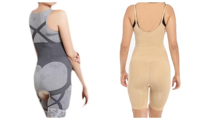 Woman Underwear Slim Body Open Bust Shapewear