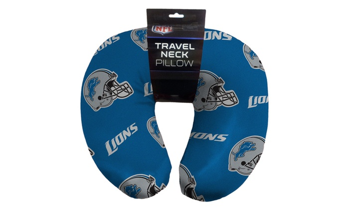 NFL 117 Lions Beaded Neck Pillow
