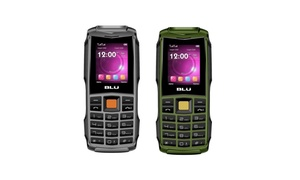 BLU Flash F010 32MB Unlocked GSM Dual-SIM Phone w/ Dual 1W Super Flashlight