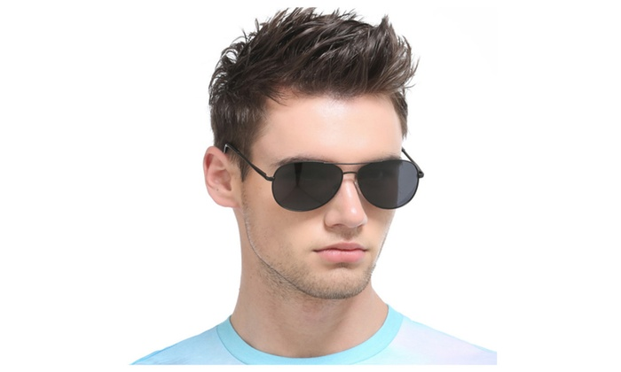 Unisex UV400 Aviator Style Polarized Sunglasses A103
