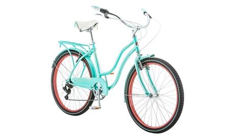 59220fcfdb0 Schwinn Ladies Perla 7 Speed Cruiser Bicycle 26