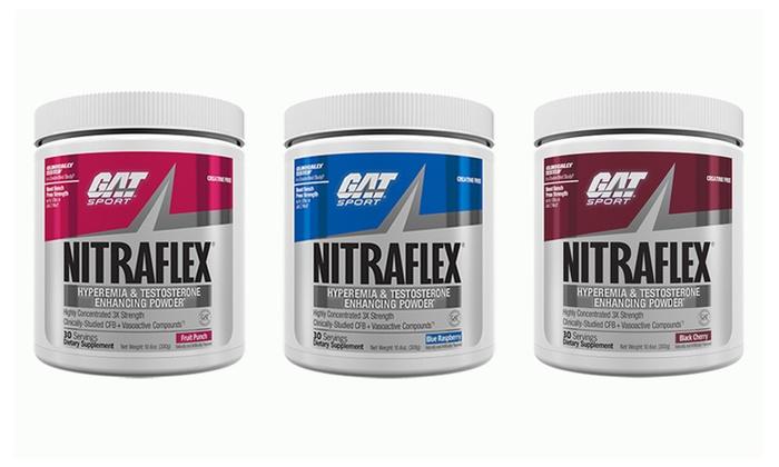 Nitraflex gat pre workout