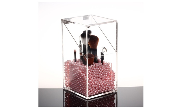 brush holder beads. speedtalk mobile: makeup brush holder organizer acrylic 5mm dust free with pearls/beads beads