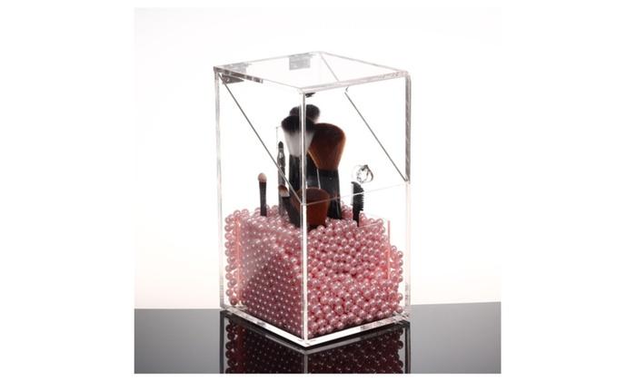 brush holder beads. speedtalk mobile: makeup brush holder organizer acrylic 5mm dust free with pearls/beads beads