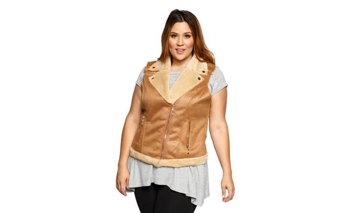 dc918e7116b71 Up To 69% Off on Xehar Women s Plus Size Faux ...