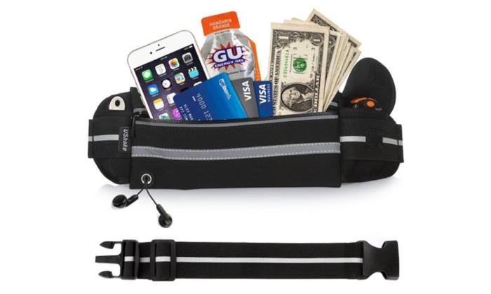 Fanny Pack Workout Belt Sports Waist Pack Belt Pouch