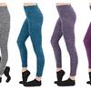 Docele Space-Dye Plus Size Leggings P1501X